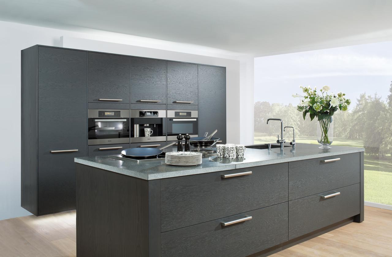 Keuken Van Grando Zwart Wit Cubic : Keuken Caldes Luxury – Grando ...