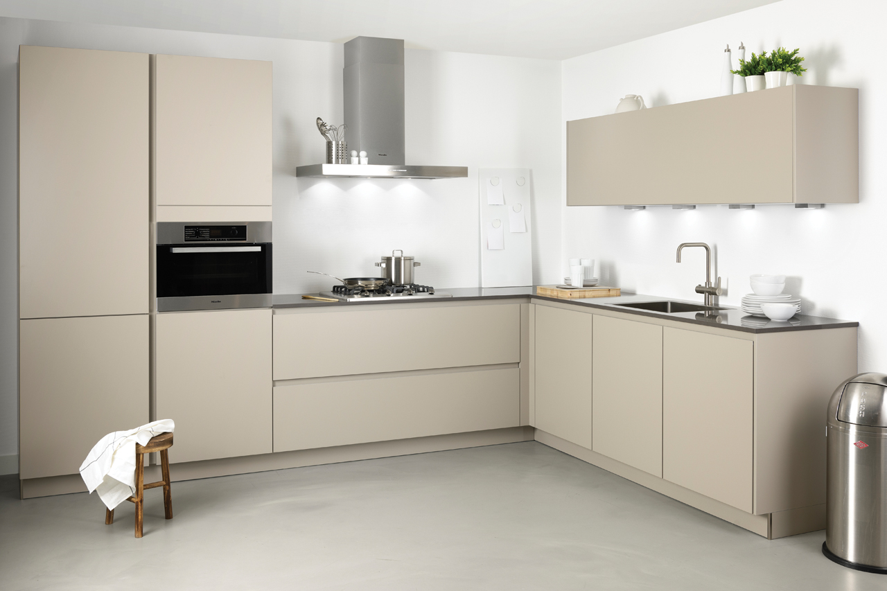 Keuken livo collexion greeploos grando keukens bad zaandam - Kleur verf moderne keuken ...