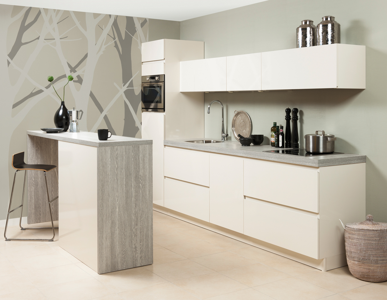 Greeploze Keuken Zelf Maken : Keuken Onna Collexion Greeploos – Grando Keukens & Bad Zaandam
